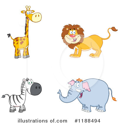 Zebra Clipart #1188494 by Hit Toon