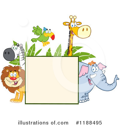 Zebra Clipart #1188495 by Hit Toon