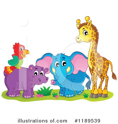 Royalty-Free (RF) Wildlife Clipart Illustration by visekart - Stock Sample #1189539