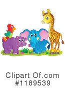 Royalty-Free (RF) Wildlife Clipart Illustration #1189539