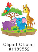Royalty-Free (RF) Wildlife Clipart Illustration #1189552