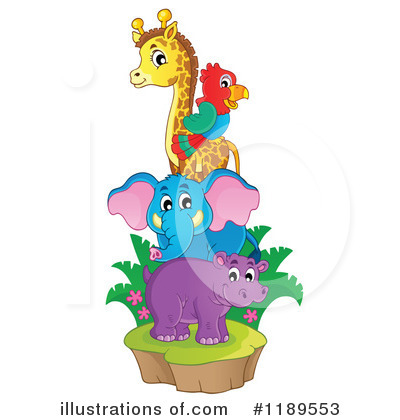 Elephant Clipart #1189553 by visekart