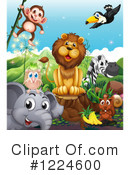 Royalty-Free (RF) Wildlife Clipart Illustration #1224600