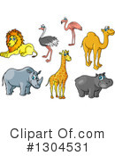 Wildlife Clipart #1304531 by Vector Tradition SM