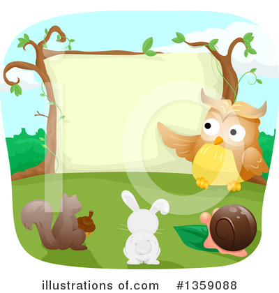 Rabbit Clipart #1359088 by BNP Design Studio
