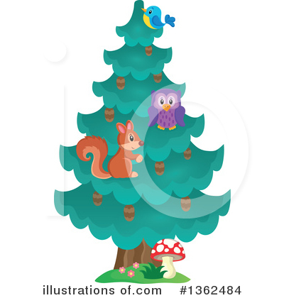 Tree Clipart #1362484 by visekart