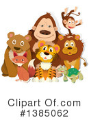 Royalty-Free (RF) Wildlife Clipart Illustration #1385062