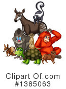 Royalty-Free (RF) Wildlife Clipart Illustration #1385063