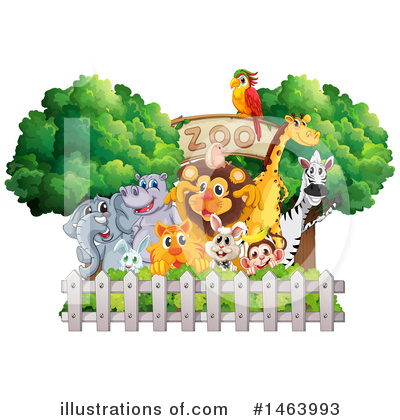 Zebra Clipart #1463993 by Graphics RF