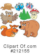 Wildlife Clipart #212155 by visekart