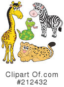 Royalty-Free (RF) Wildlife Clipart Illustration #212432