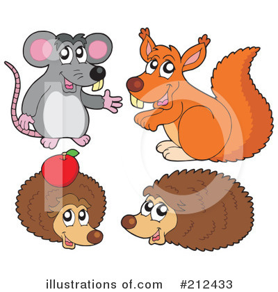 Hedgehog Clipart #212433 by visekart