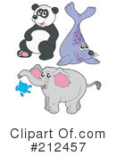 Royalty-Free (RF) Wildlife Clipart Illustration #212457