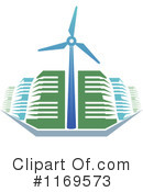 Royalty-Free (RF) Wind Energy Clipart Illustration #1169573