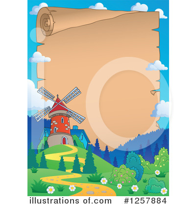 Windmill Clipart #1257884 by visekart