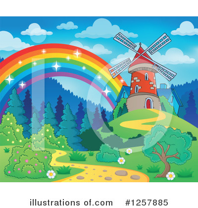 Rainbow Clipart #1257885 by visekart