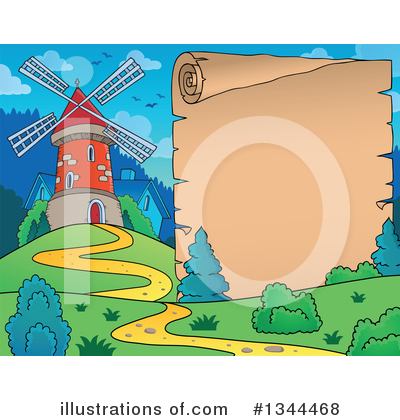 Windmill Clipart #1344468 by visekart