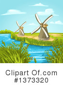 Windmill Clipart #1373320 by merlinul