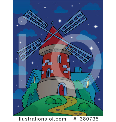 Windmill Clipart #1380735 by visekart