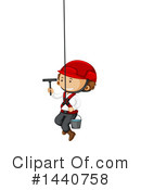 Royalty-Free (RF) Window Cleaner Clipart Illustration #1440758