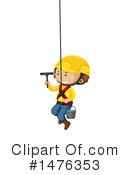 Royalty-Free (RF) Window Cleaner Clipart Illustration #1476353