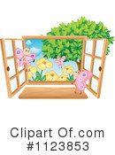 Royalty-Free (RF) Window Clipart Illustration #1123853
