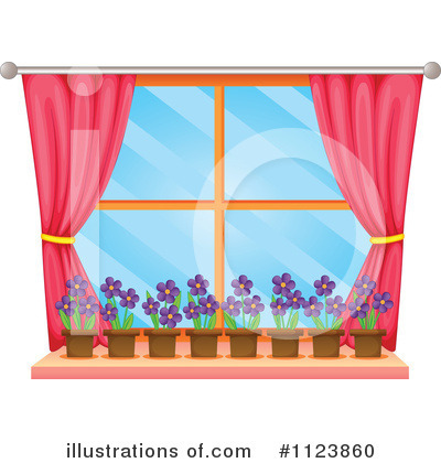 Drapes Clipart #1123860 by Graphics RF