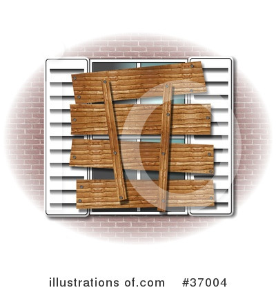 Royalty-Free (RF) Window Clipart Illustration by djart - Stock Sample #37004