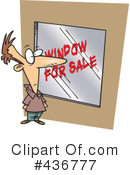 Royalty-Free (RF) window Clipart Illustration #436777