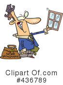 Royalty-Free (RF) window Clipart Illustration #436789