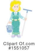 Royalty-Free (RF) Window Washer Clipart Illustration #1551057
