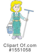 Window Washer Clipart #1551058 by Alex Bannykh