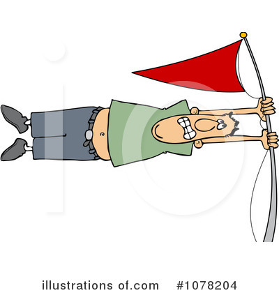 Royalty-Free (RF) Windy Clipart Illustration by Dennis Cox - Stock Sample #1078204
