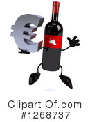 Wine Bottle Character Clipart #1268737 by Julos