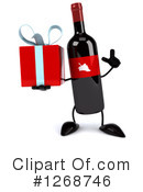 Wine Bottle Character Clipart #1268746 by Julos
