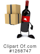 Wine Bottle Character Clipart #1268747 by Julos