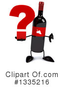 Wine Bottle Character Clipart #1335216 by Julos