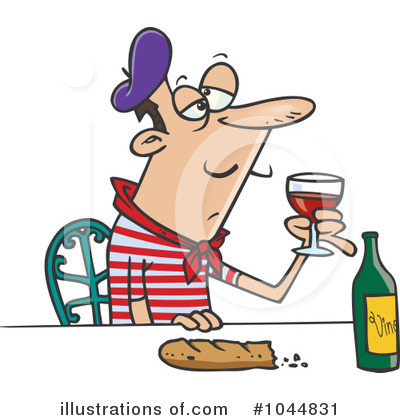 Wine Clipart #1044831 by toonaday