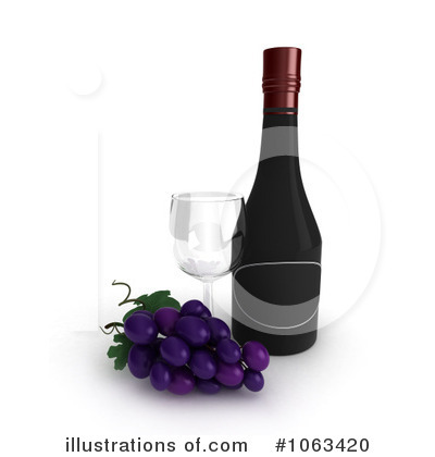 Wine Clipart #1063420 by BNP Design Studio