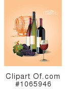 Wine Clipart #1065946 by Eugene