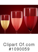 Royalty-Free (RF) Wine Clipart Illustration #1090059