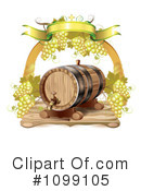 Royalty-Free (RF) Wine Clipart Illustration #1099105