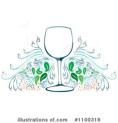 Winery Clipart #1100318 by Cherie Reve