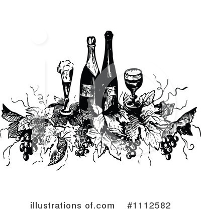 Grapes Clipart #1112582 by Prawny Vintage
