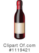 Royalty-Free (RF) Wine Clipart Illustration #1119421