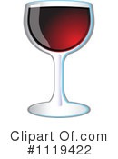 Royalty-Free (RF) Wine Clipart Illustration #1119422