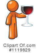 Royalty-Free (RF) Wine Clipart Illustration #1119829