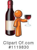 Royalty-Free (RF) wine Clipart Illustration #1119830