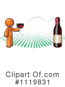 Royalty-Free (RF) Wine Clipart Illustration #1119831