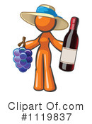 Royalty-Free (RF) wine Clipart Illustration #1119837
